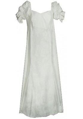 Гавайское длинное платье
