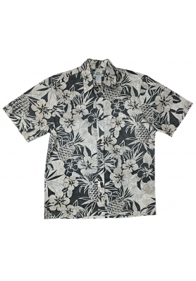 Гавайская мужская двусторонняя рубашка