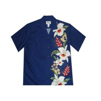 ALB-Side Flower Designs Shirts