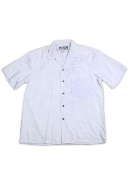 Гавайская рубашка Palm Tree White